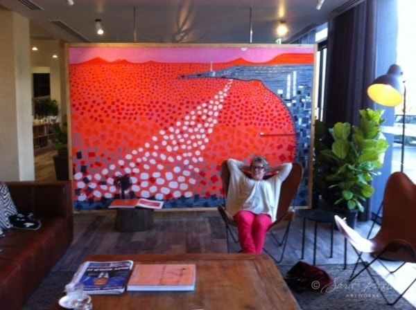 Sara Paxton Artist at Art Series Hotels - Bendigo