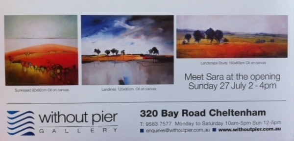 Sara Paxton Without Pier Art Exhibition