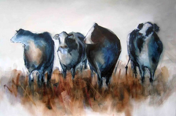 Bovine Glory-Oil Painting-150x100cm