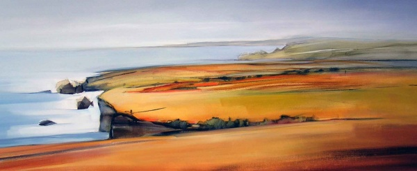 Coast-Oil Painting-160x60cm