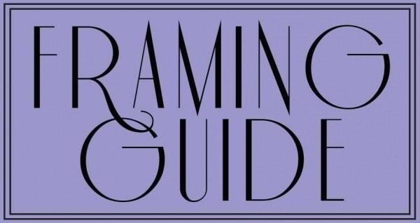 Framing Artwork-Sara Paxton Artworks