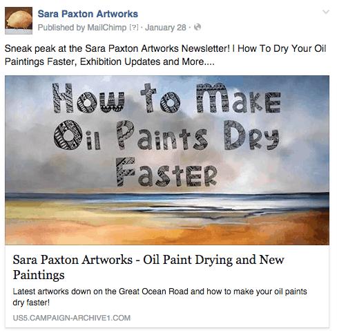 Artist facebook page - FB Image 1
