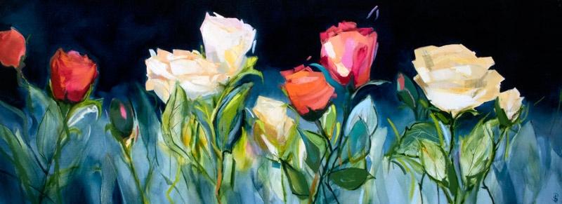 Perfect Roses - 160x60cm