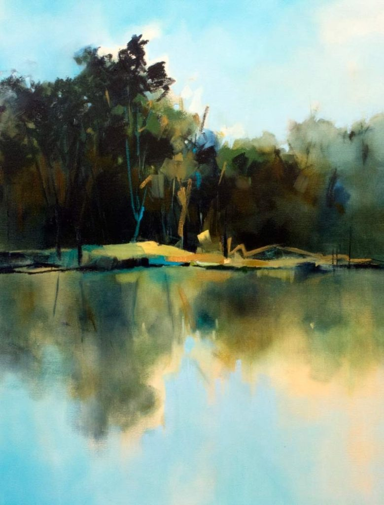 The Lake - 90x120cm