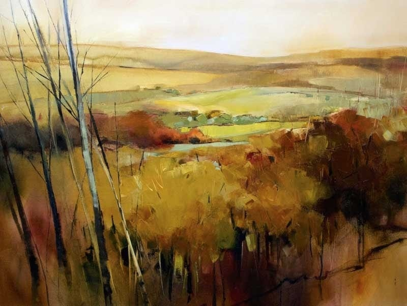 Autumn Landscape 120x90cm Oil Painting