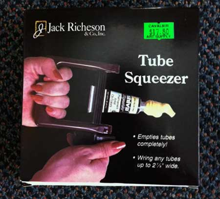 gifts for an artist tube squeezer