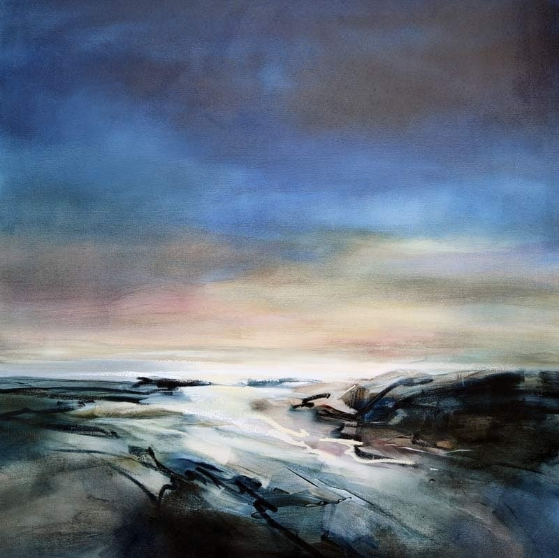 Beach Twilight-106x106cm