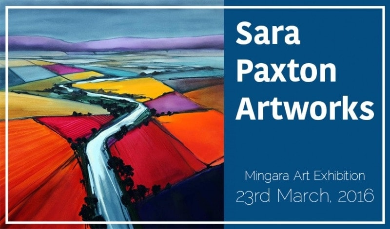 Mingara Gallery Art Exhibition March_Sara Paxton Artworks