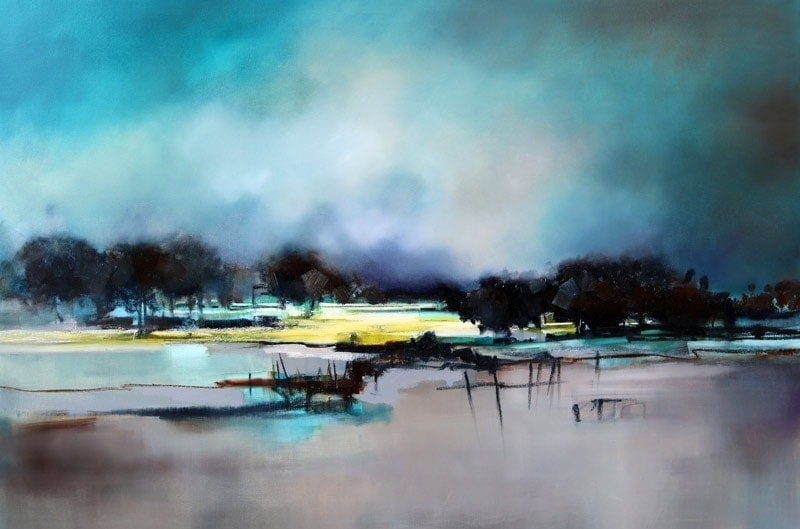 Peace and Tranquility - 150x100cm