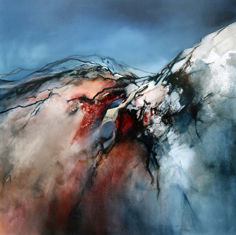 Ascending - 106x106cm