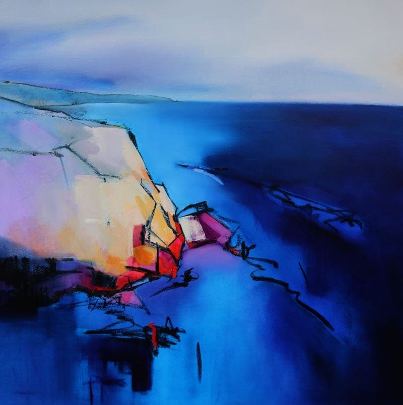 Deep Blue - 106x106cm