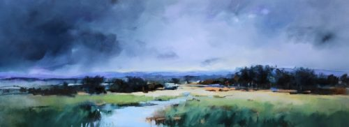 Tranquil Landscape by Sara Paxton Artworks