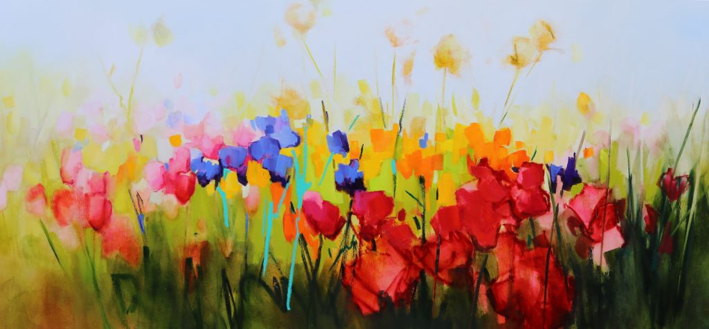 Colours of Spring - 180x85cm