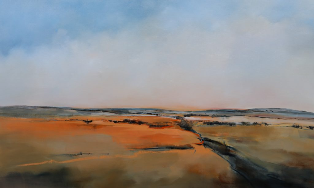 Into the Distance - 180x110cm