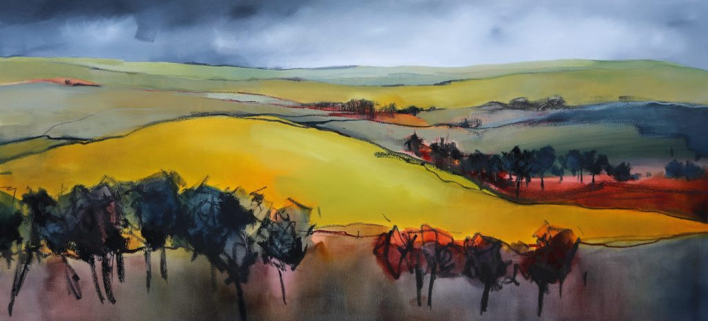 Landscape Lines - 180x85cm