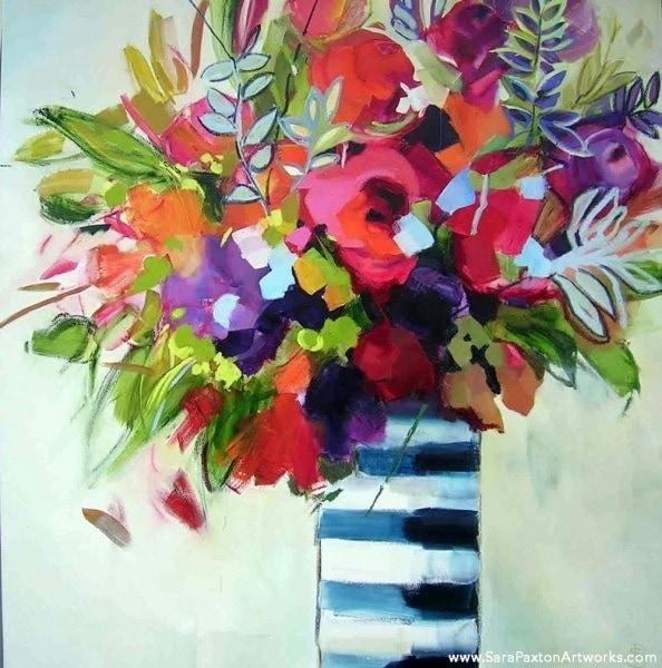 Finest Flowers - 106x106cm