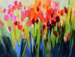 Flowers in Spring by Sara Paxton Artworks