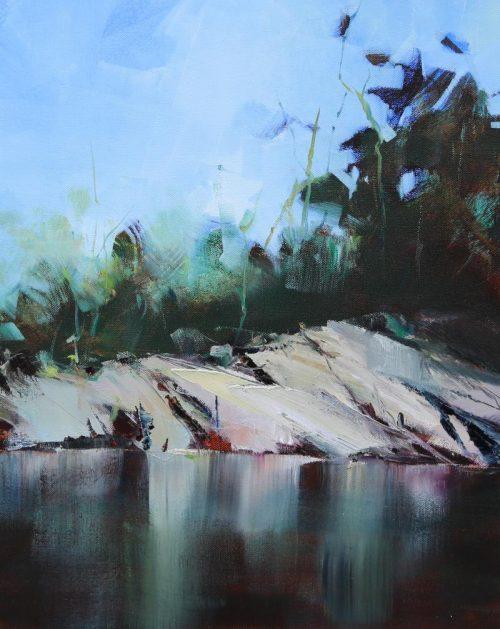 Riverbank by Sara Paxton Artworks
