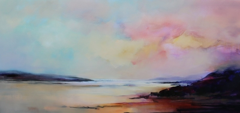 Coastal Shoreline 180x85cm by Sara Paxton