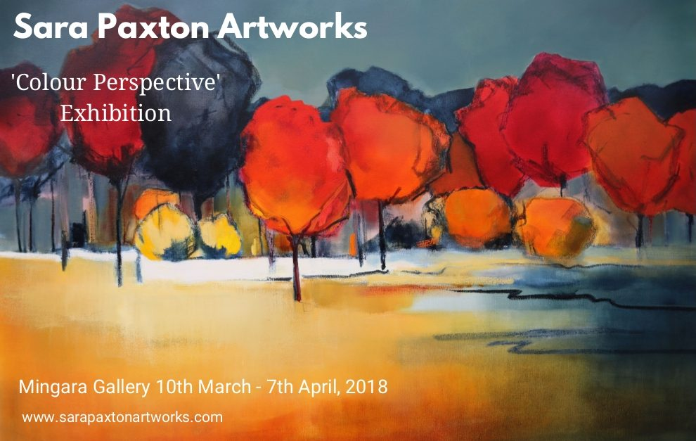 Sara Paxton 'Colour Perspective' Exhibition at Mingara Gallery