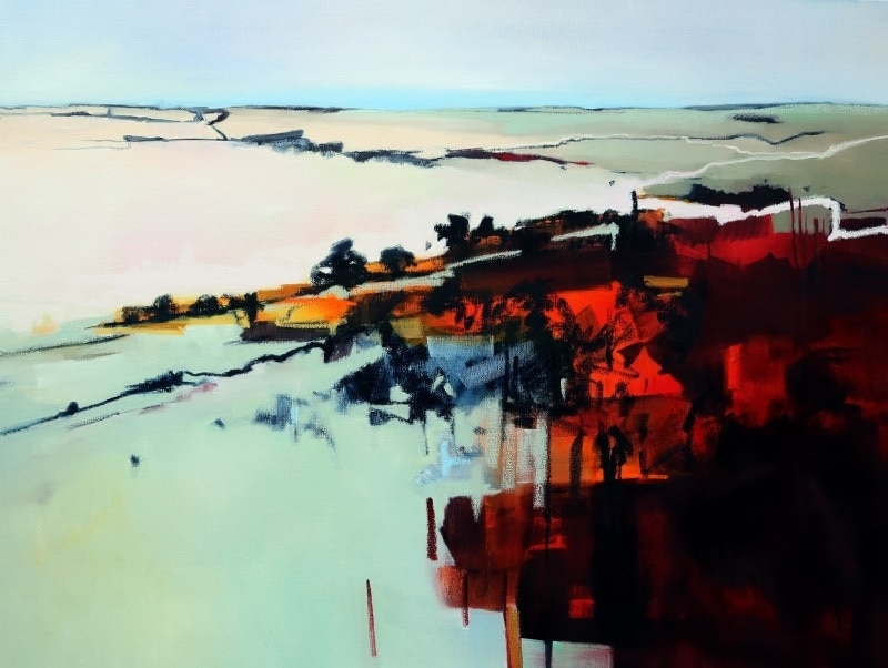 Levels in Landscape 120x90cm by Sara Paxton