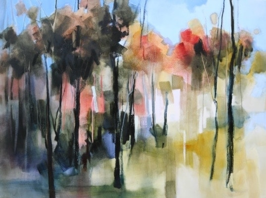 Linear Landscape 120x90cm by Sara Paxton