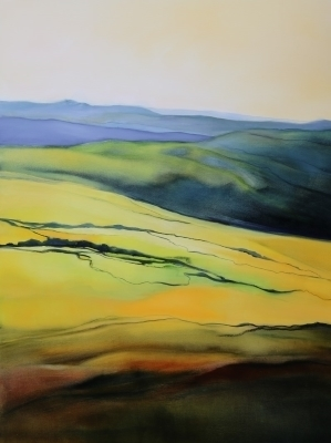Rolling Hills 90x120cm by Sara Paxton