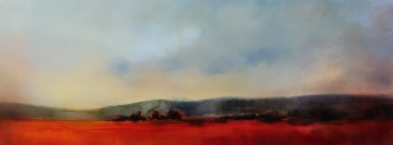 Sultry Landscape 160x60cm by Sara Paxton